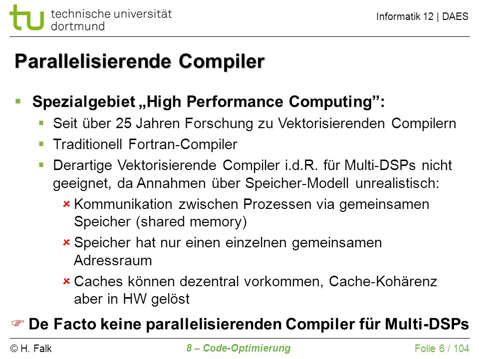 Parallelisierende Compiler