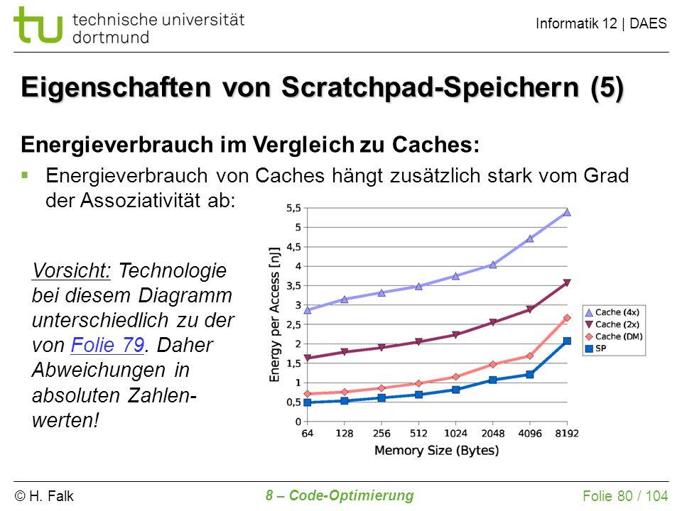 Eigenschaften von Scratchpad-Speichern (5)