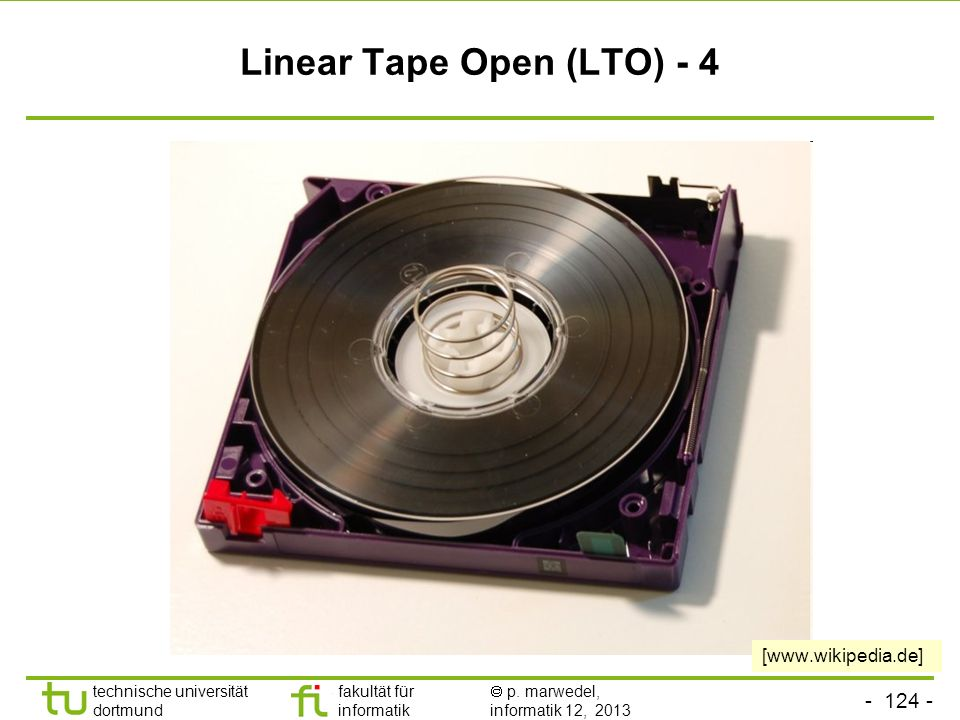 Linear Tape Open (LTO) - 4