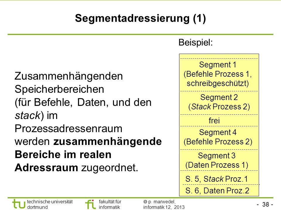 Segmentadressierung (1)