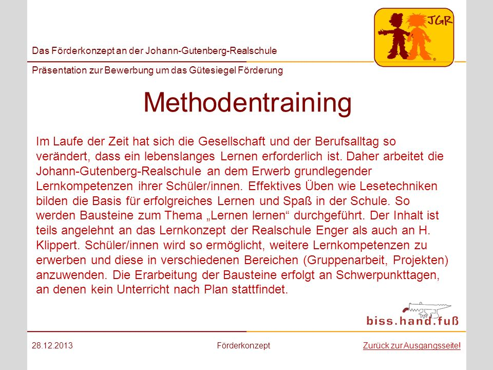 Methodentraining