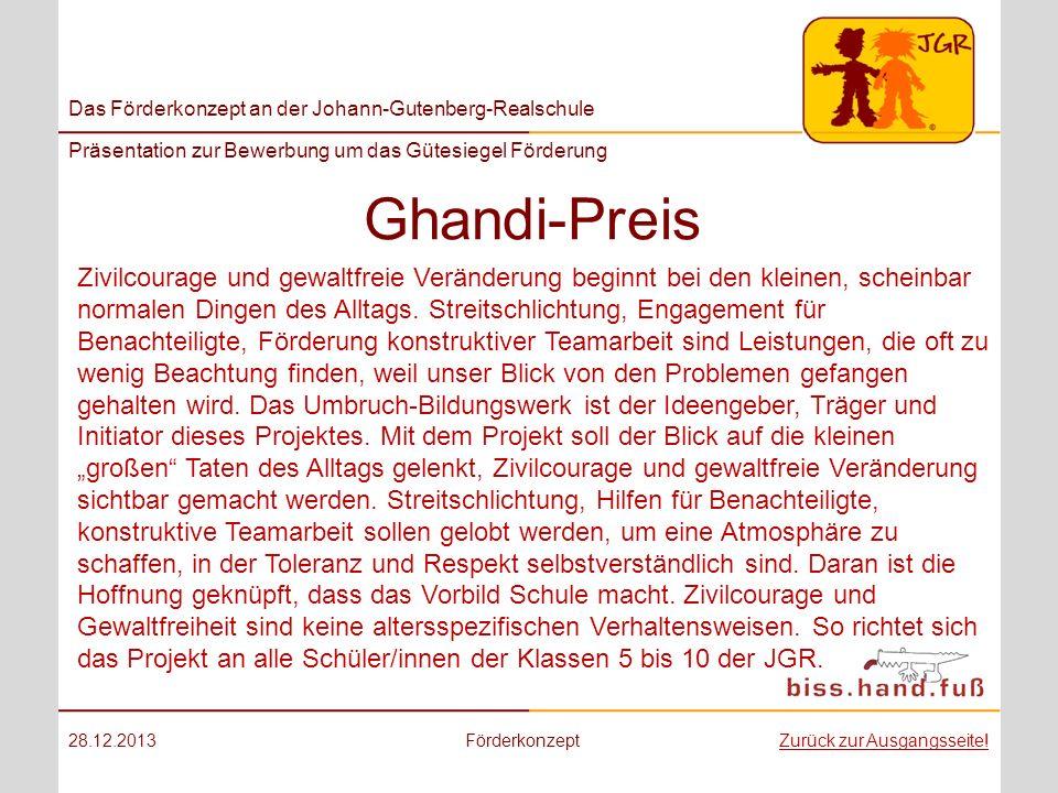 Ghandi-Preis