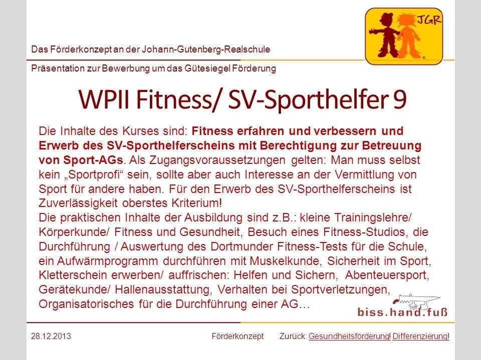 WPII Fitness/ SV-Sporthelfer 9
