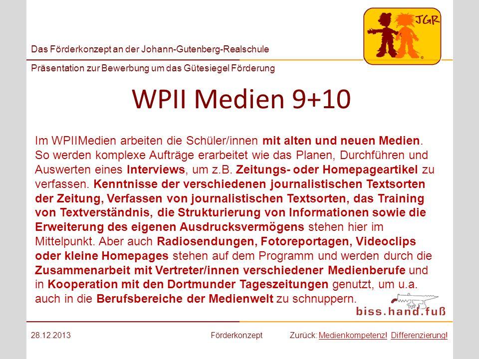 WPII Medien 9+10