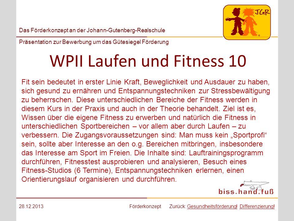 WPII Laufen und Fitness 10