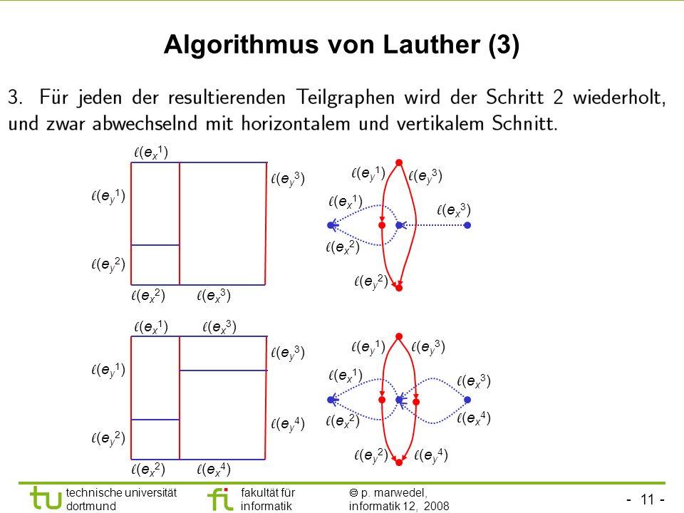Algorithmus von Lauther (3)