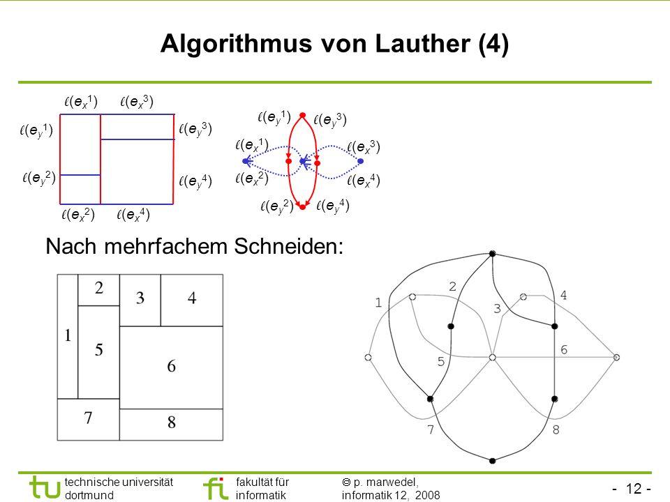Algorithmus von Lauther (4)