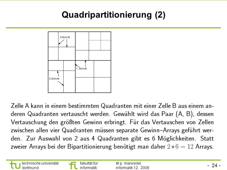 Quadripartitionierung (2)