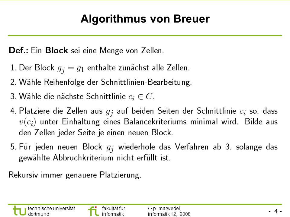 Algorithmus von Breuer