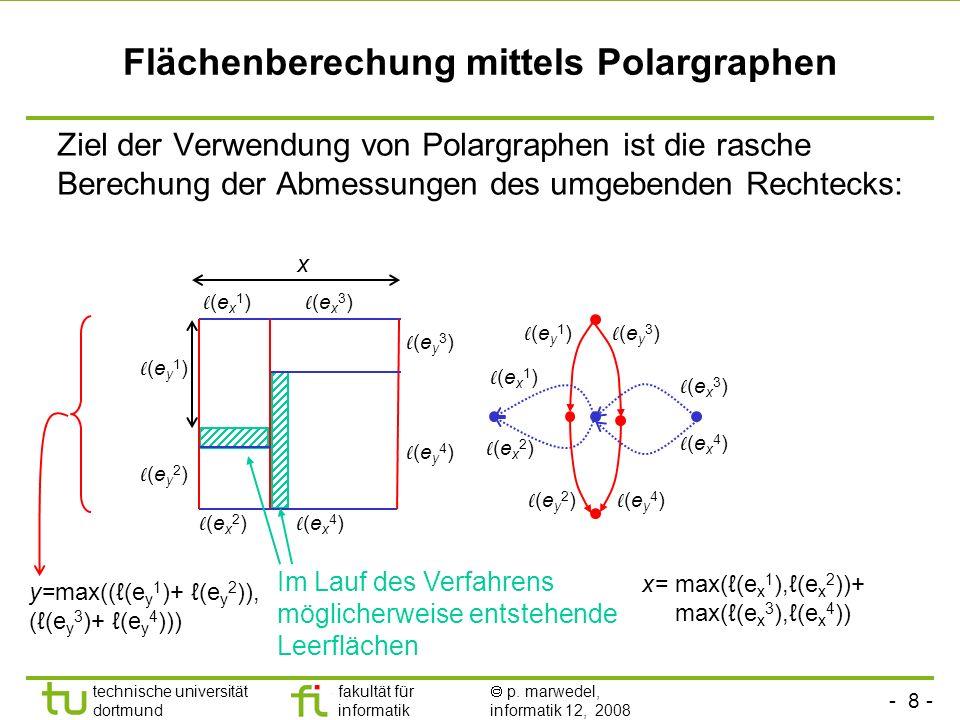 Flächenberechung mittels Polargraphen