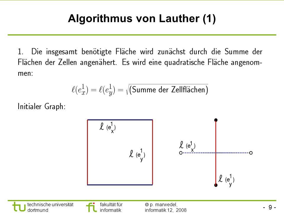 Algorithmus von Lauther (1)