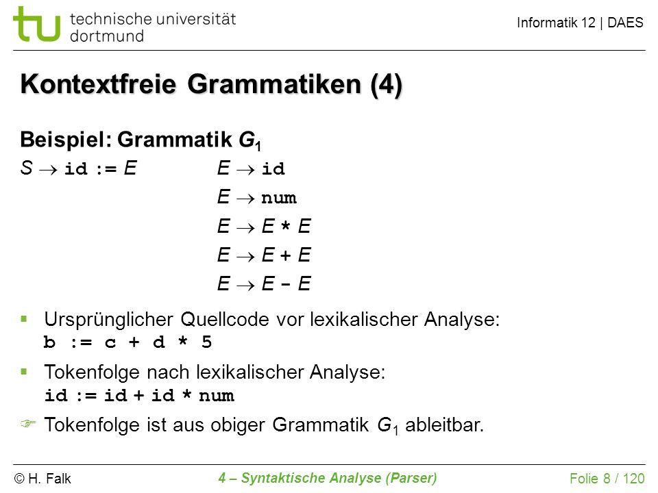Kontextfreie Grammatiken (4)