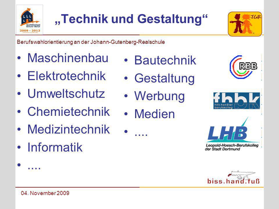 """""""Technik und Gestaltung"""