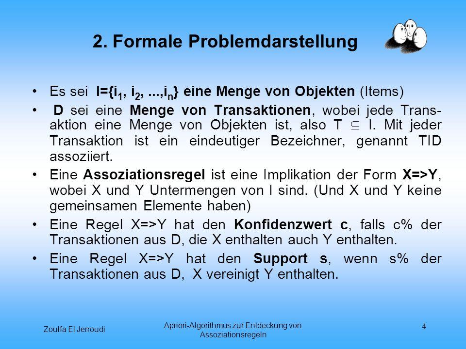 2. Formale Problemdarstellung