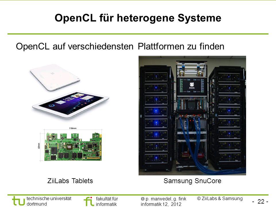 OpenCL für heterogene Systeme