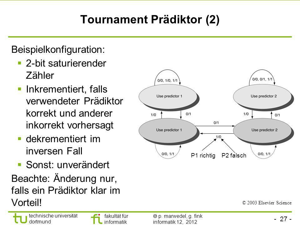 Tournament Prädiktor (2)