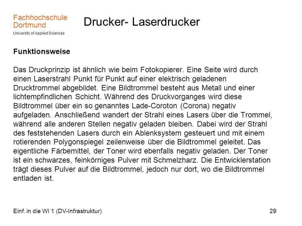 Drucker- Laserdrucker