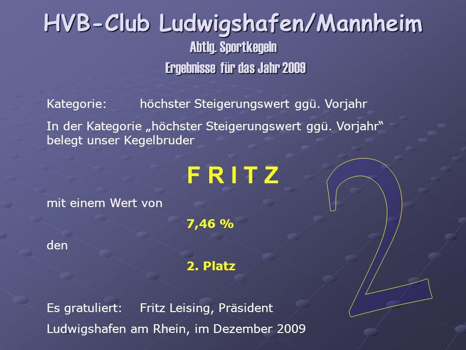 HVB-Club Ludwigshafen/Mannheim Abtlg