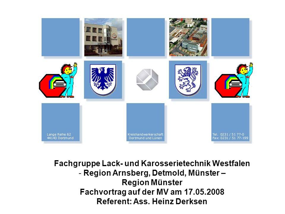 Fachgruppe Lack- und Karosserietechnik Westfalen