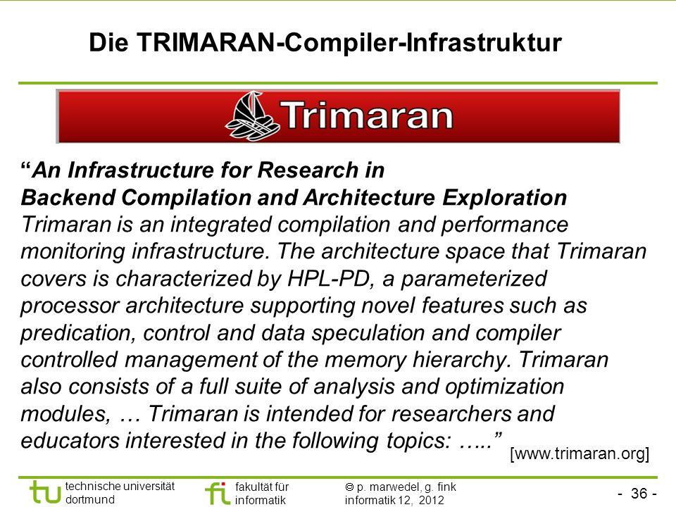 Die TRIMARAN-Compiler-Infrastruktur