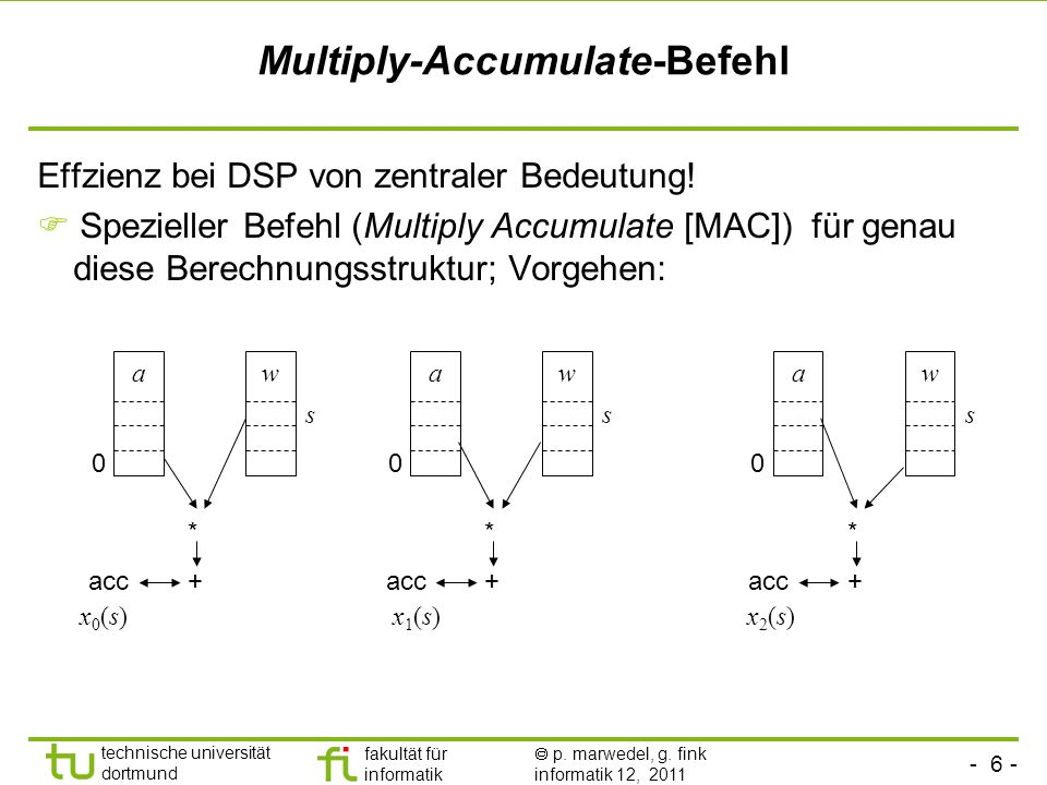 Multiply-Accumulate-Befehl