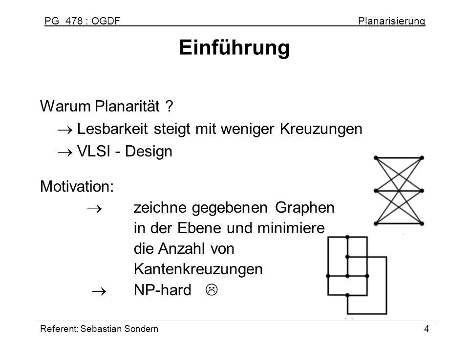 Einführung Warum Planarität