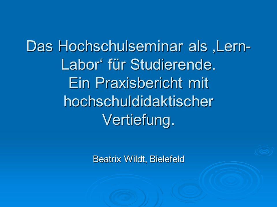 Beatrix Wildt, Bielefeld