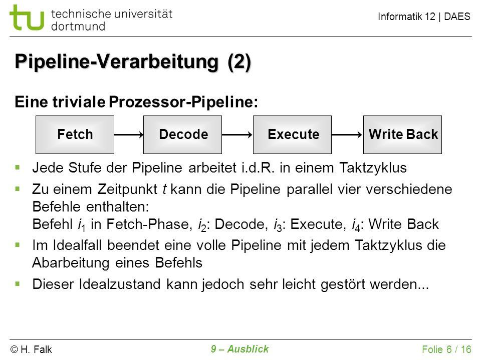 Pipeline-Verarbeitung (2)