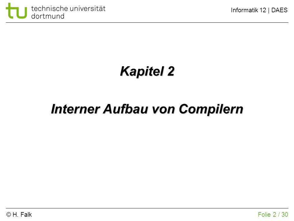 Interner Aufbau von Compilern