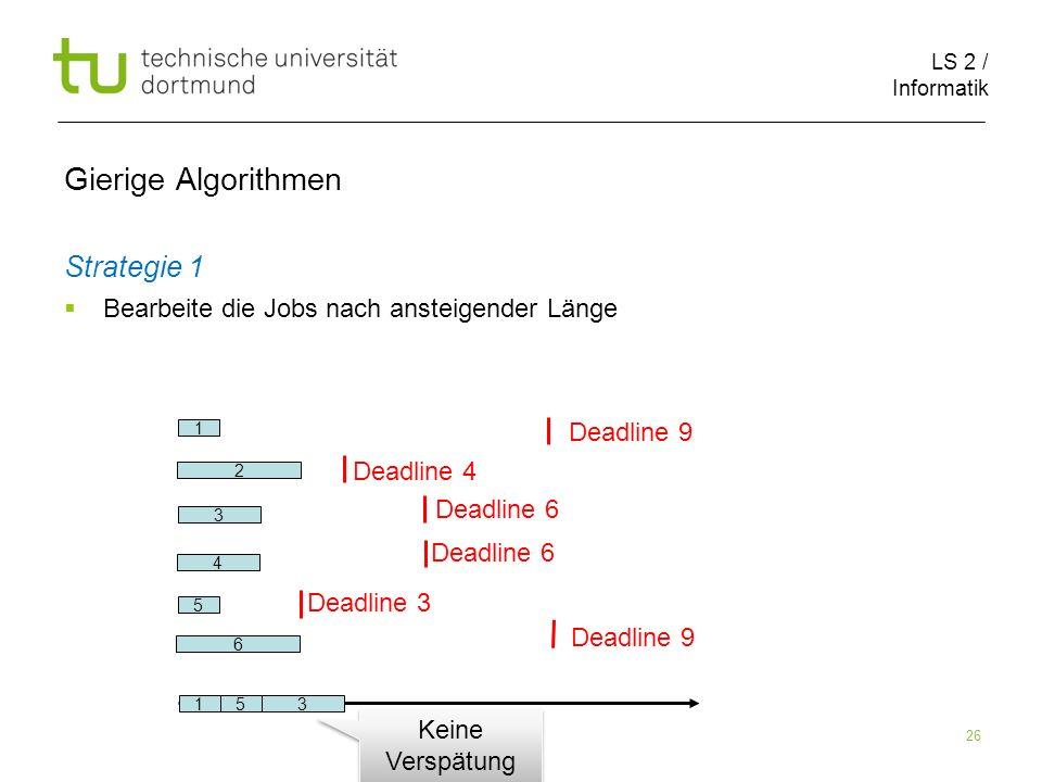 Gierige Algorithmen Strategie 1