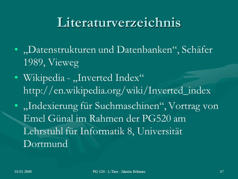 Literaturverzeichnis