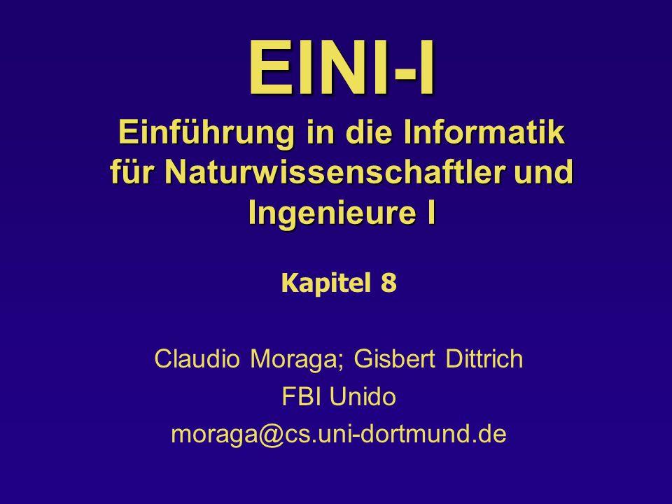 Claudio Moraga; Gisbert Dittrich
