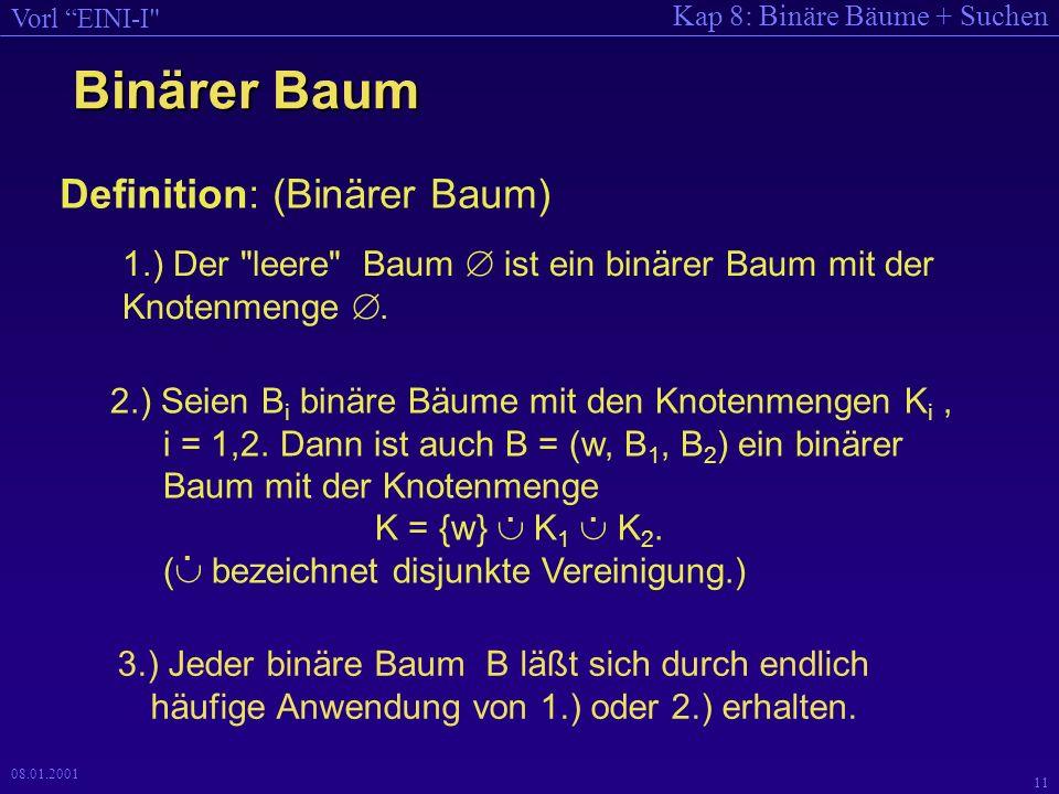 Binärer Baum Definition: (Binärer Baum)