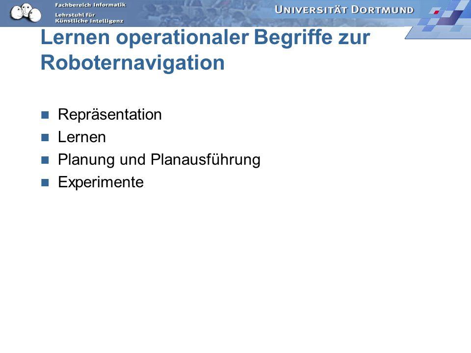 Lernen operationaler Begriffe zur Roboternavigation