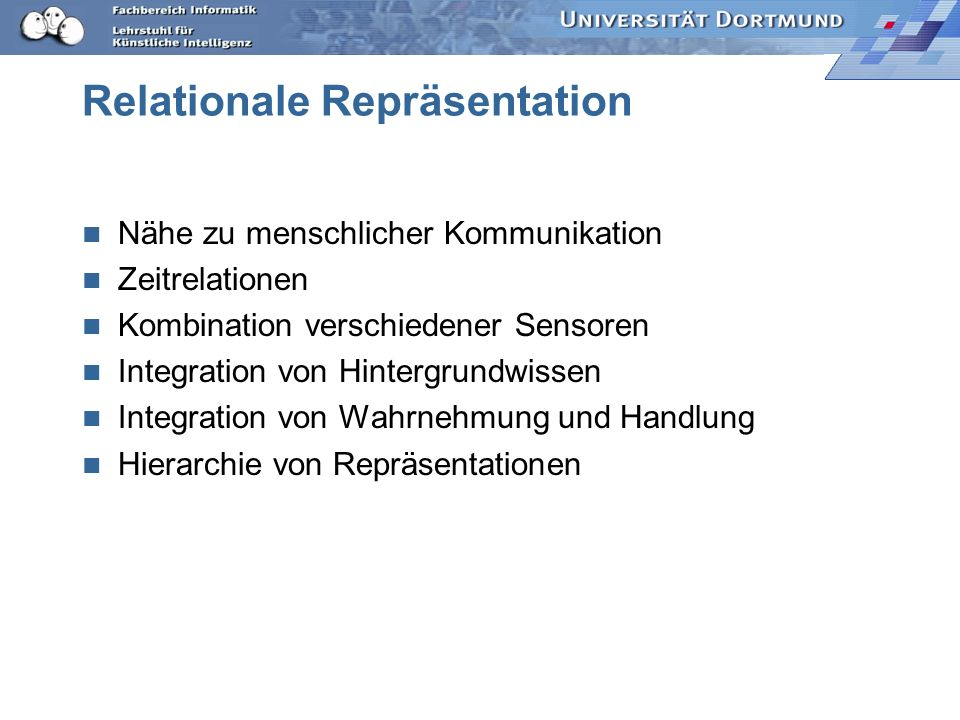 Relationale Repräsentation