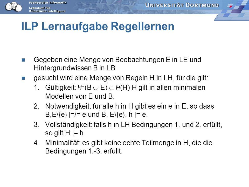 ILP Lernaufgabe Regellernen