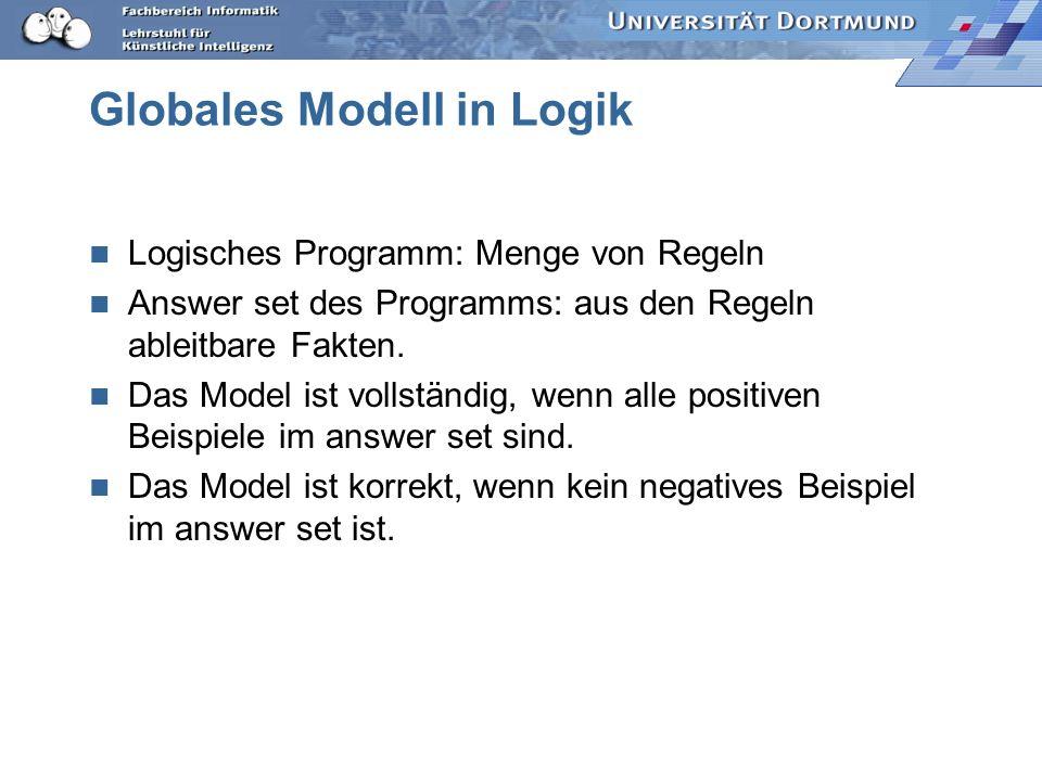 Globales Modell in Logik