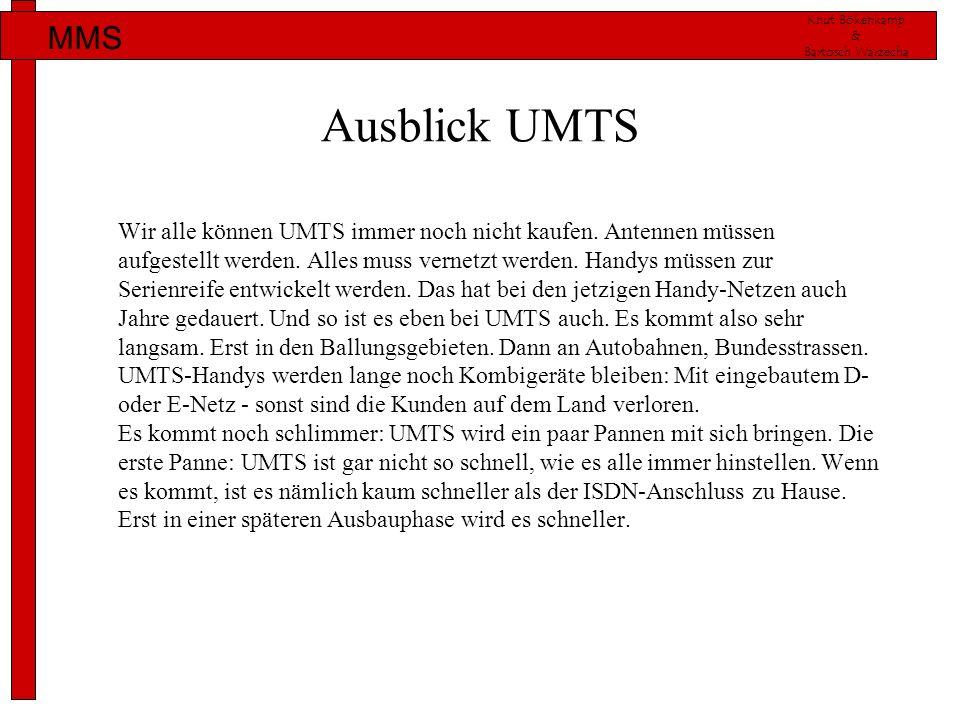 Ausblick UMTS