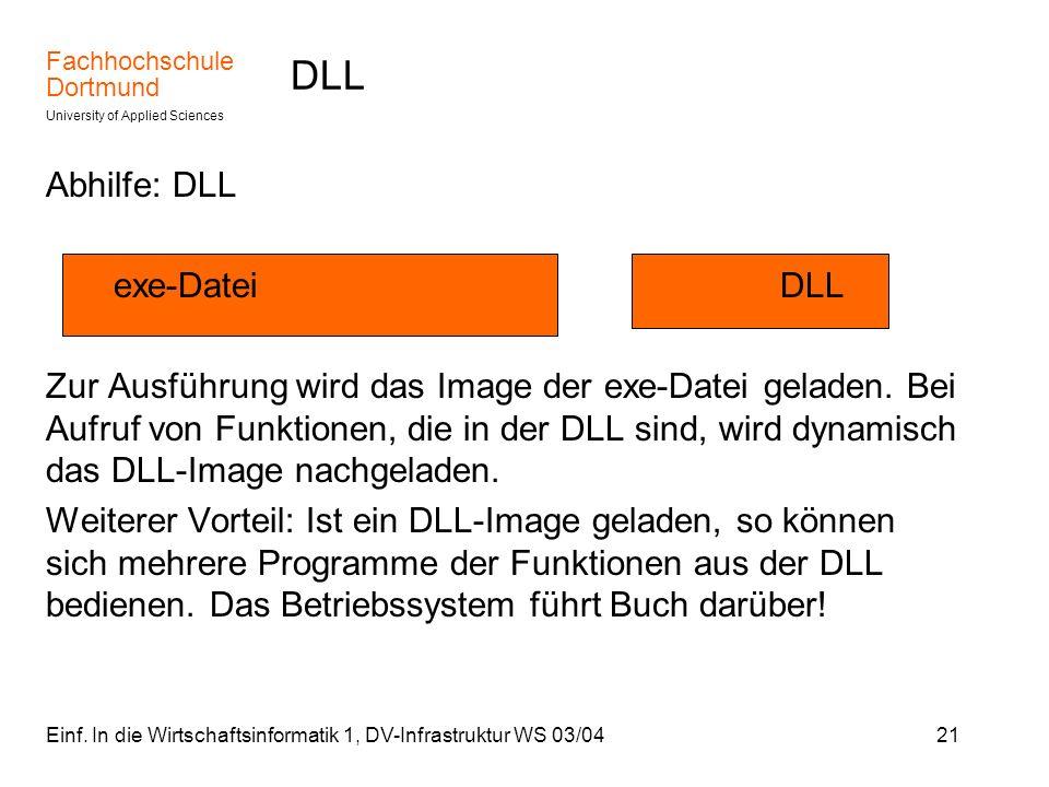 DLL Abhilfe: DLL exe-Datei DLL