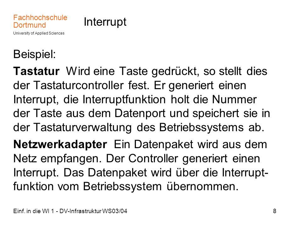 Interrupt Beispiel: