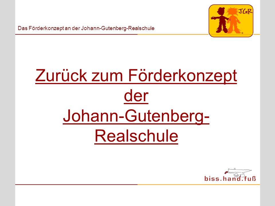Zurück zum Förderkonzept der Johann-Gutenberg-Realschule