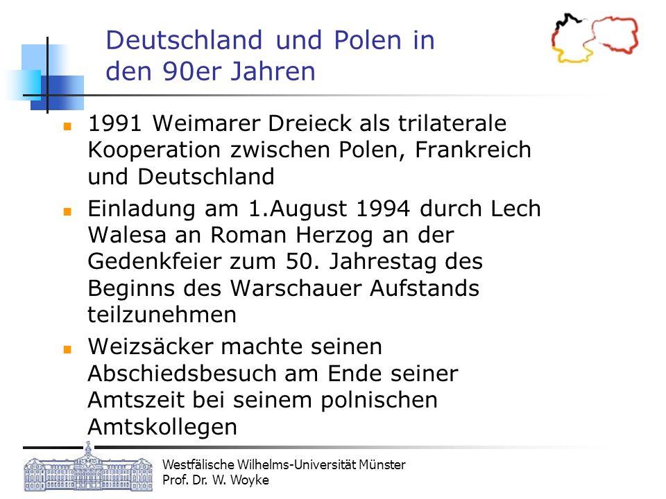 Deutschland und Polen in den 90er Jahren