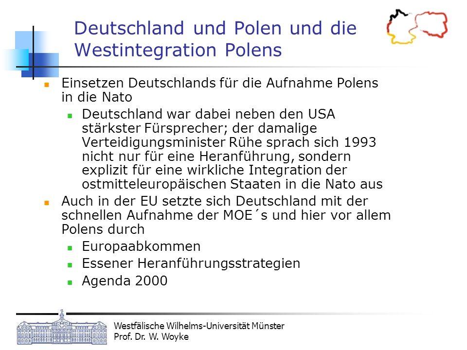 Deutschland und Polen und die Westintegration Polens