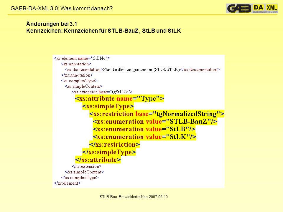 Kennzeichen: Kennzeichen für STLB-BauZ , StLB und StLK
