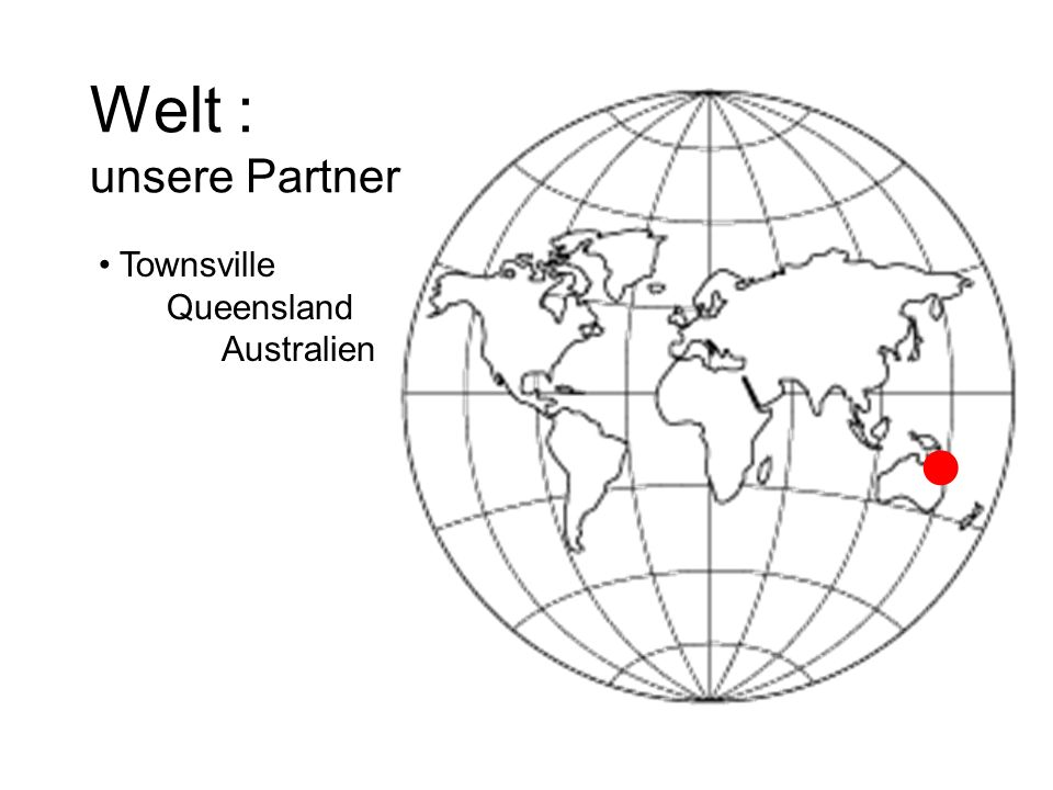 Welt : unsere Partner Townsville Queensland Australien 
