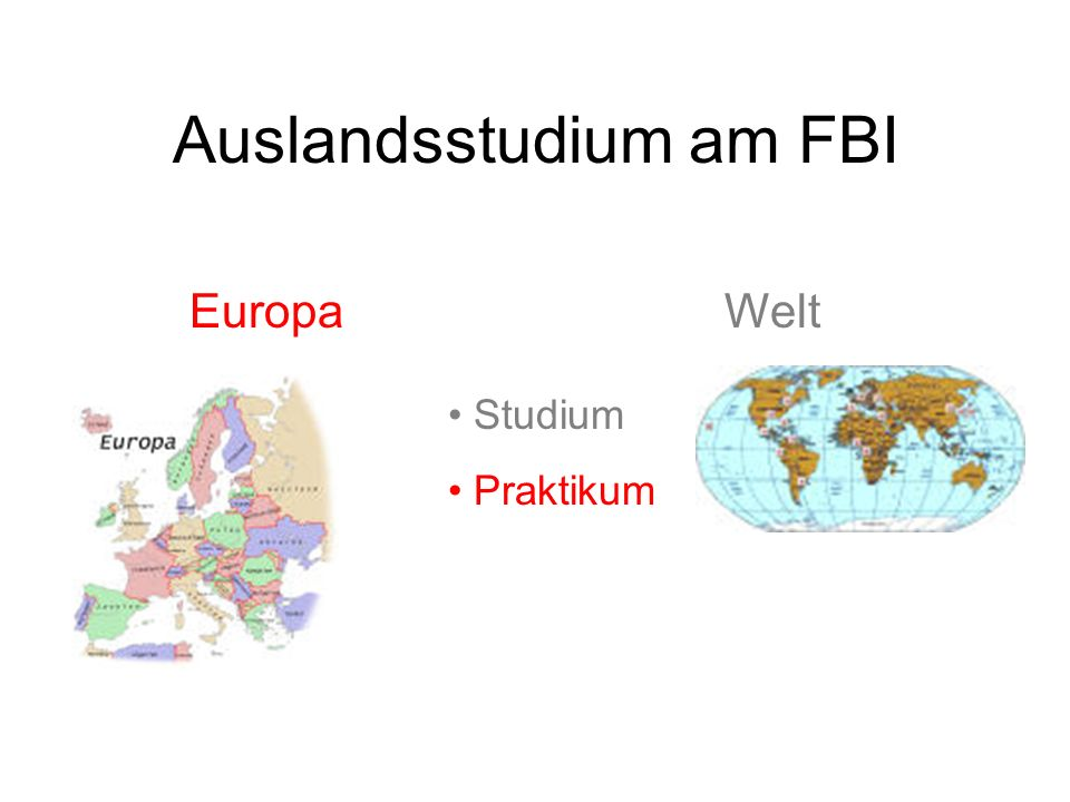 Auslandsstudium am FBI