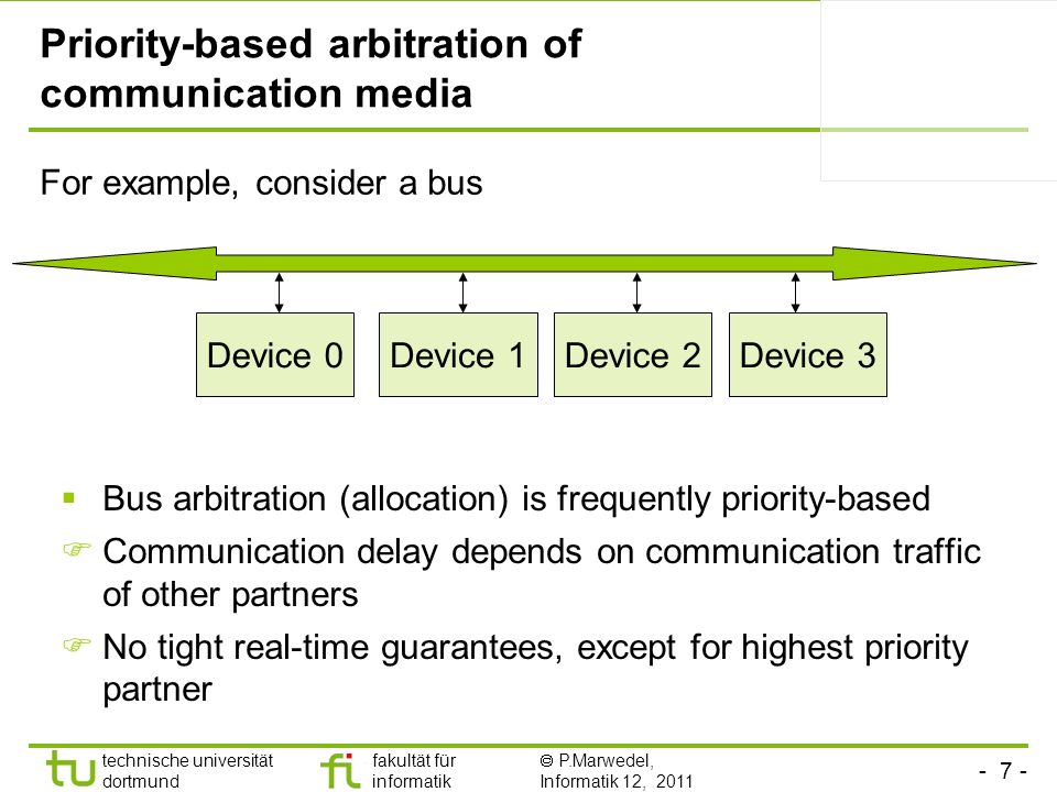 Priority-based arbitration of communication media