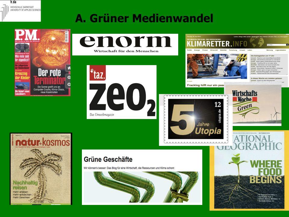 A. Grüner Medienwandel