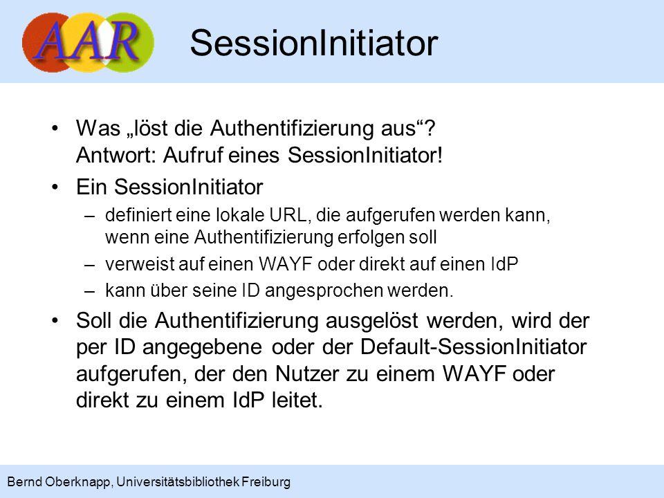 """SessionInitiator Was """"löst die Authentifizierung aus Antwort: Aufruf eines SessionInitiator! Ein SessionInitiator."""