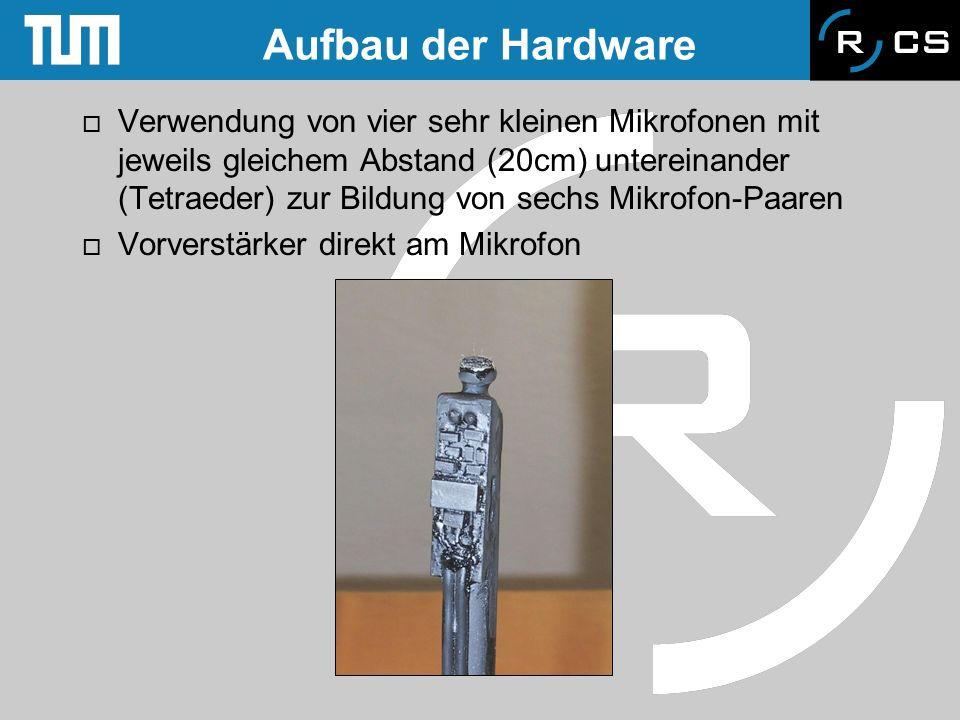 Aufbau der Hardware